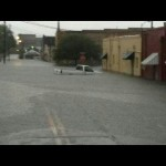 Tropical Storm Debby Flood Damage, Downtown Live Oak, Florida